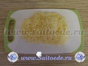 Семга с креветками запеченная в духовке под сырной корочкой