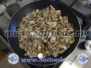 Багет с начинкой запеченный в духовке