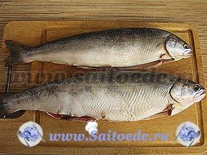 Рыба с лимоном в фольге запеченная в духовке