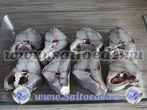 Рыба в сметанно-сливочном соусе под сыром