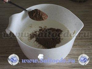 Кексы с какао