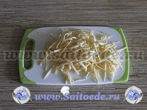 Скумбрия с луком и сыром запеченная в духовке