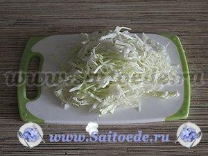 Лаваш со свежими овощами и курицей